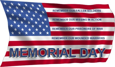 Image result for we will be closed on memorial day